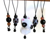stitch markers knitting / dog puppy terrier lover / accessory gift / row counter tool / snag free stitchmarkers / popular knitter gift tool