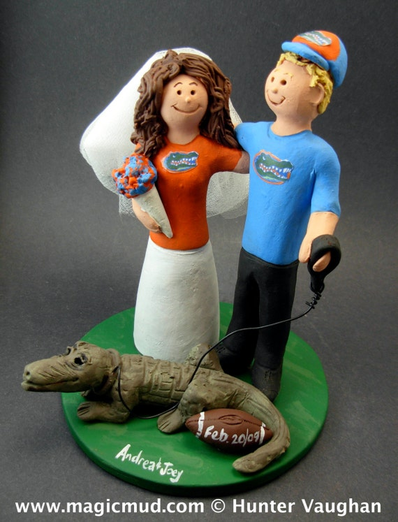 florida gator wedding cake toppers florida gators football wedding cake topper florida gators 14326