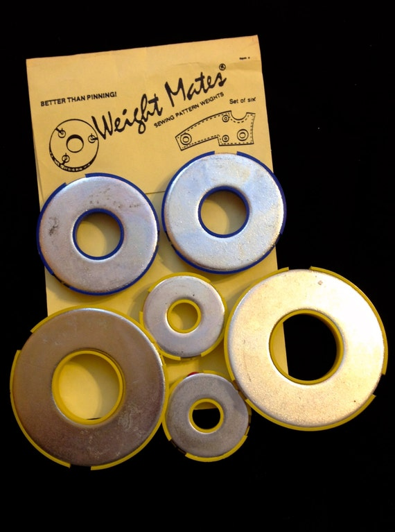 Weight Mates Sewing Pattern Weights Better Than Pinning