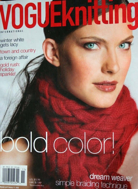 Yours Magazine Knitting Patterns : Vogue Knitting Magazine Knitting Patterns Holiday 2006 Women