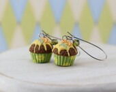 Citrus Cupcake Earrings