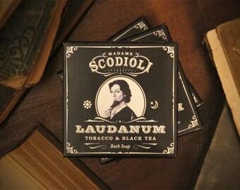 Laudanum Soap Bar - Tobacco & Black Tea