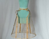 Victorian wire cage bustle crinoline