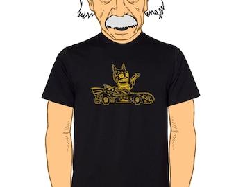 Bat Calavera Men's T-Shirt Small, Medium, Large,  XL in 2 Colors