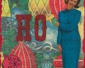 Ho Holiday Greeting Card