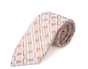Men's Necktie / Vintage Patterned Tie by Velducci