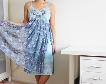 LOLA - draped lace & roses