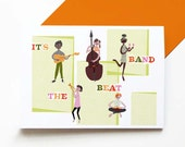 It's the Beat Band card