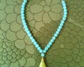 LA PRINCESA jade pendant necklace