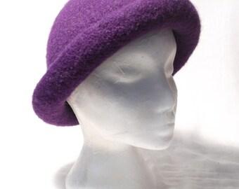 Classic Ladies Bowler Hat  Knitting Pattern