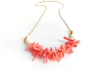 Riverina Necklaces - Pink Coral