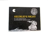 Hildilid's Night - Arnold Lobel - Black and white - Halloween - Night - 1986 softcover printing