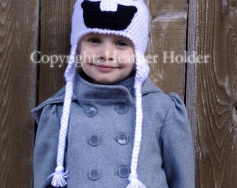 Olaf the Snowman (Frozen) Crocheted Hat Pattern - Instant Download