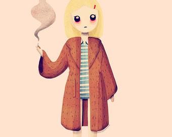 Margot - Illustration Print