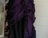 Steampunk Skirt, Grand Bustle Skirt, Overskirt, Customisable