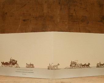 BUGGIES ON PARADE card