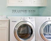 The Laundry Room Loads of Fun vinyl lettering wall decal sticker