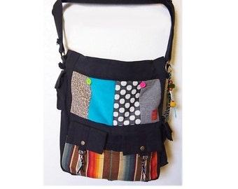 Boho Patch Work  Carry All Sports (Reserved)