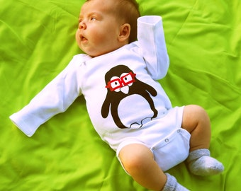 Pedantic Penguin One Piece Bodysuit- Pick Your Size
