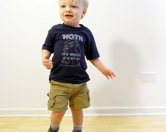 CLEARANCE HOTH- Star Wars Inspired Toddler Tee- Pick Your Size