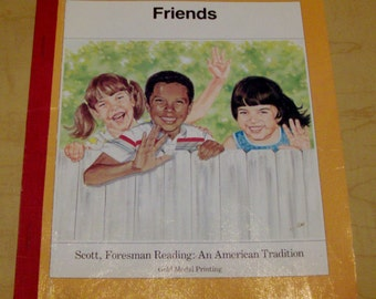 1989 Friends Children's Reading Book