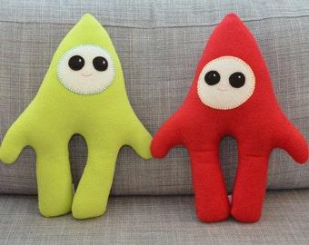 Custom Plush Monster Stuffed Animal - Kesmo