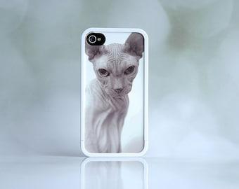 Black + White Photo + White iPhone Case Bumper + iPhone Case