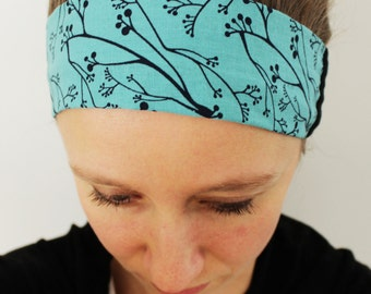 Hemp and Organic Cotton Print Headband - GREAT GIFT