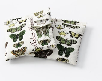 Butterfly Lavender Sachets - Gift for Mom, Grandma, Aunt - Mother's Day - Moth Insect Pillows