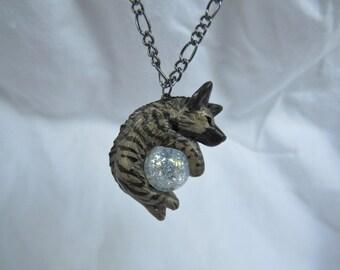 Striped Hyena Necklace