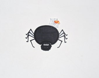 """Embroidered Iron On Applique- """"Spider"""""""