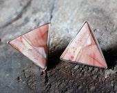 Dusty Rose Earrings