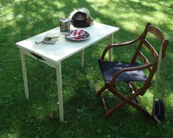 "Civil War Double Folding Camp Table 36 x 20 (28"" tall)"