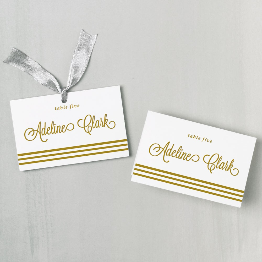 Printable Escort Cards Template Gallery - Template Design Ideas