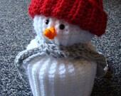 Custom Order Crochet Snowman TP Cover