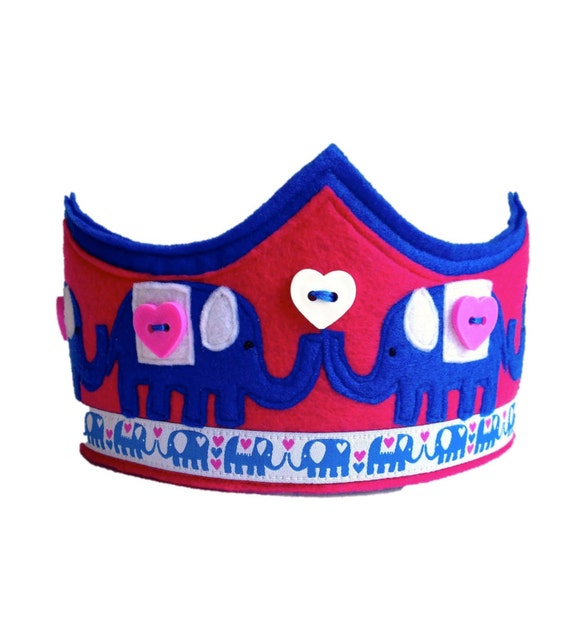 The Elephant Parade Crown - Blue Version