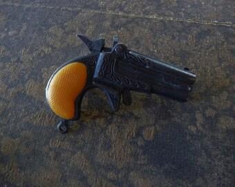 ONE Toy Gun Derringer Pistol Fun Charm Gun Pendant Lil Hideout