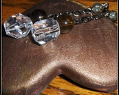 Citrine Earrings, Pyrite ...