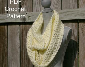 PDF Infinity Scarf Crochet Pattern Instant Download