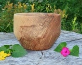 Wood Bowl, Red Elm Bowl, hand turned