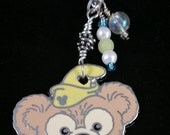Disney Scrapper Pin Makeover: Duffy the Bear Necklace