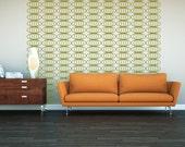Retro Wall Decal, Geometric Wall Decals, Retro Wall Decor, Modern Nursery Decor, Mid Century Modern Decor, Modern Home Decor, Dorm Decor