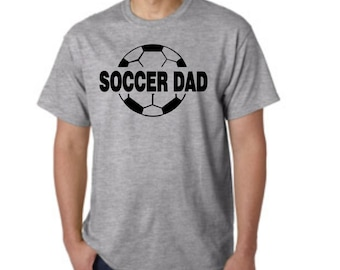 Soccer DAD - short sleeve t-shirt - free shipping in the  Contiguous U.S.A. #246