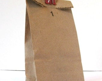 Kraft Paper Bags {25} - Petite Lunch Sacks - Party, Favor, Candy Buffet, Treat