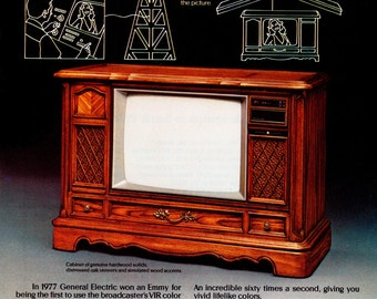 1979 General Electric Color Television Ad