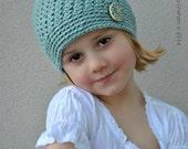 Crochet Hat Pattern - Bumpy Beanie No.127 FOUR Sizes Digital PDF Download