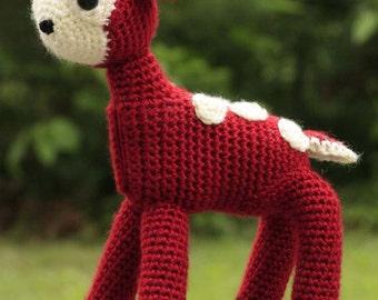 Crochet Fawn, Deer