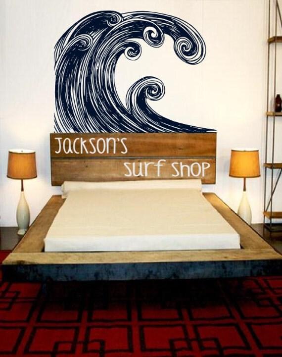 Items similar to surfer nursery wall decor explore for Surf nursery ideas