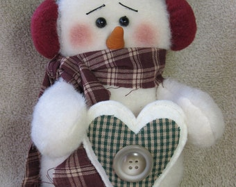"Snowman pattern:  ""Chilly"" - #474"