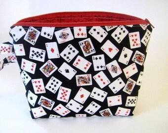 Poker table purse holder